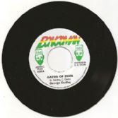 George Dudley - Gates Of Zion / Scorcher - dub (Bongo Man)<Studio One> JA 7&quot;